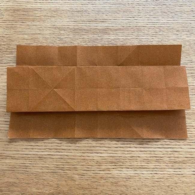 あつ森の折り紙たぬきち*折り方作り方 (17)