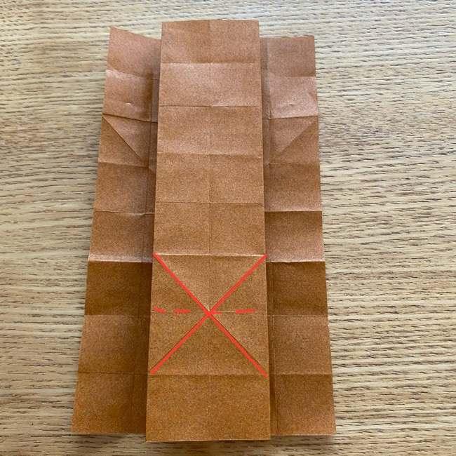 あつ森の折り紙たぬきち*折り方作り方 (19)
