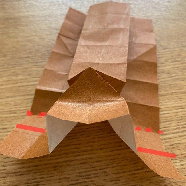 あつ森の折り紙たぬきち*折り方作り方 (20)