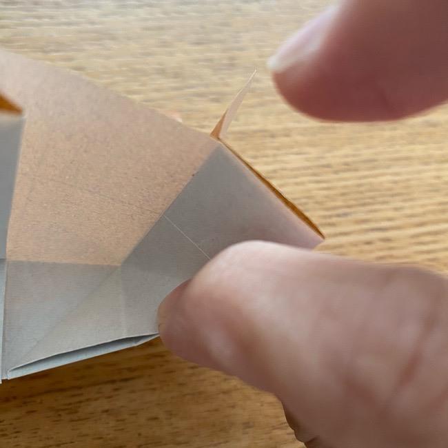 あつ森の折り紙たぬきち*折り方作り方 (25)