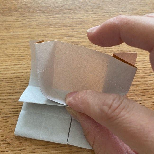 あつ森の折り紙たぬきち*折り方作り方 (27)