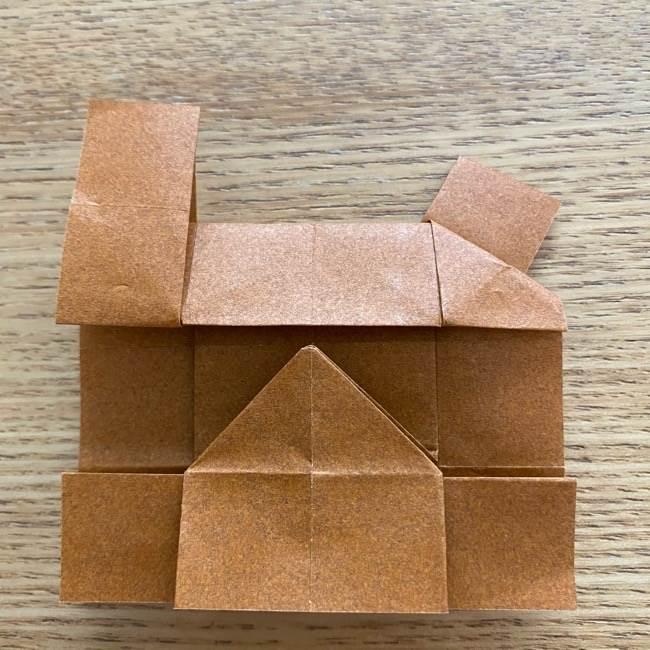 あつ森の折り紙たぬきち*折り方作り方 (35)