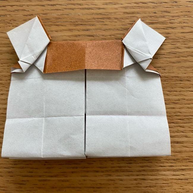 あつ森の折り紙たぬきち*折り方作り方 (37)