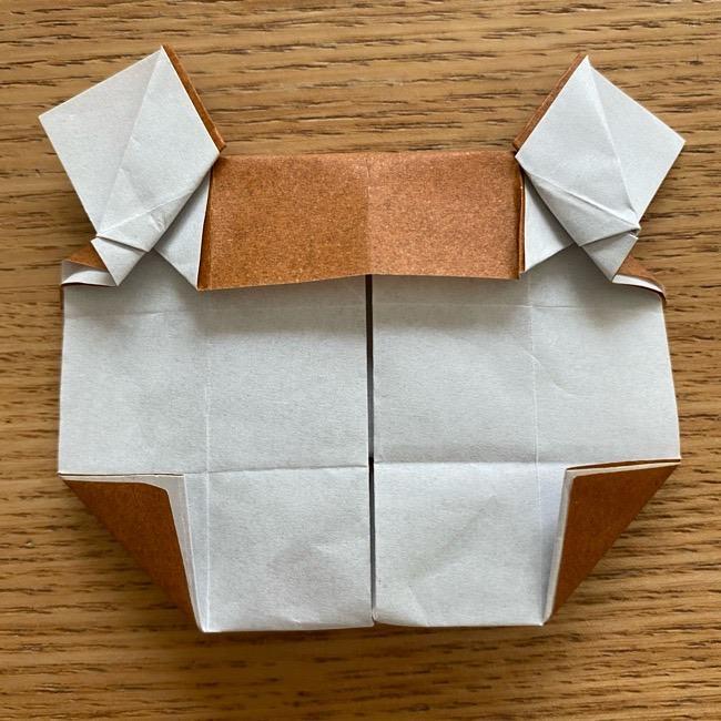 あつ森の折り紙たぬきち*折り方作り方 (38)