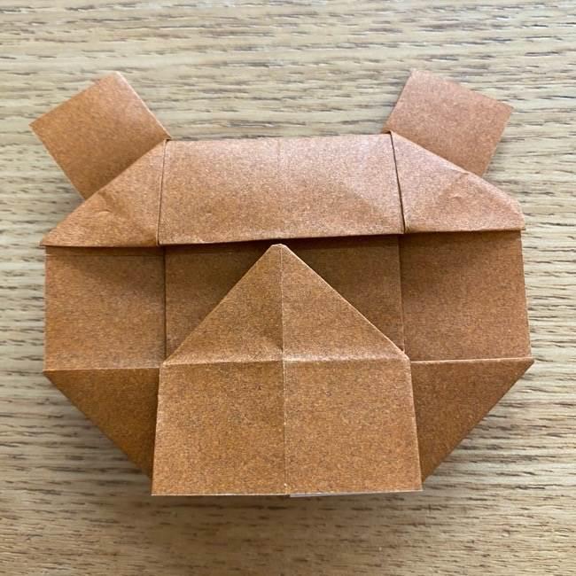 あつ森の折り紙たぬきち*折り方作り方 (39)