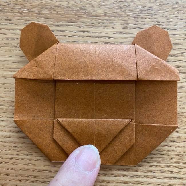 あつ森の折り紙たぬきち*折り方作り方 (42)