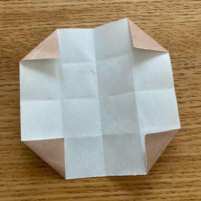 あつ森の折り紙たぬきち*折り方作り方 (51)