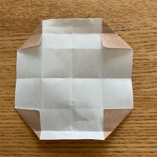 あつ森の折り紙たぬきち*折り方作り方 (53)