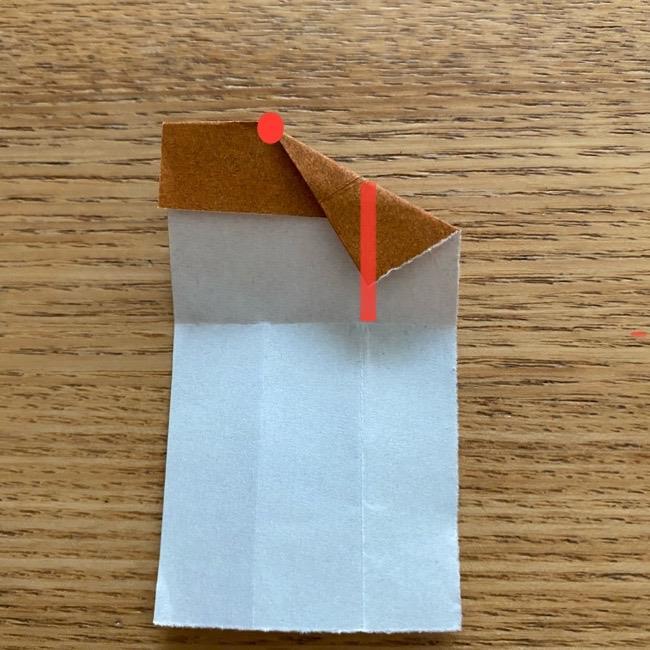 あつ森の折り紙たぬきち*折り方作り方 (75)