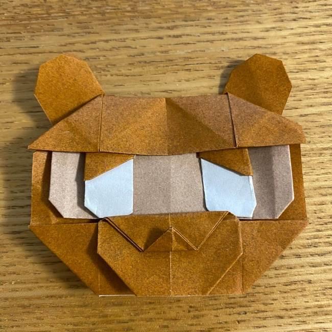 あつ森の折り紙たぬきち*折り方作り方 (84)