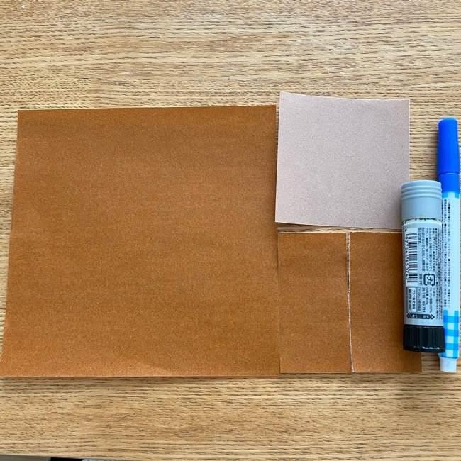 あつ森の折り紙たぬきち*用意する物