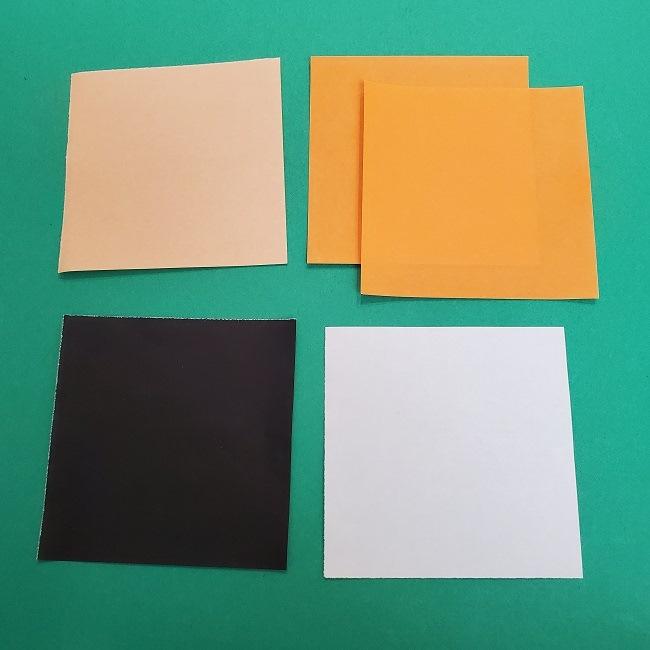 きめつのやいば『さびと』折り紙*必要なもの (1)