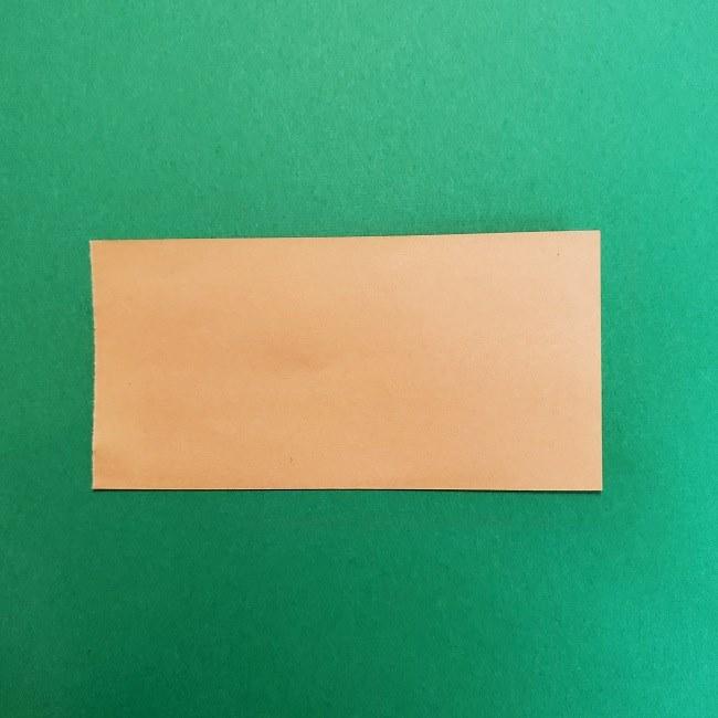 きめつのやいばの折り紙 うろこだき(鱗滝左近次)の折り方作り方①顔 (2)