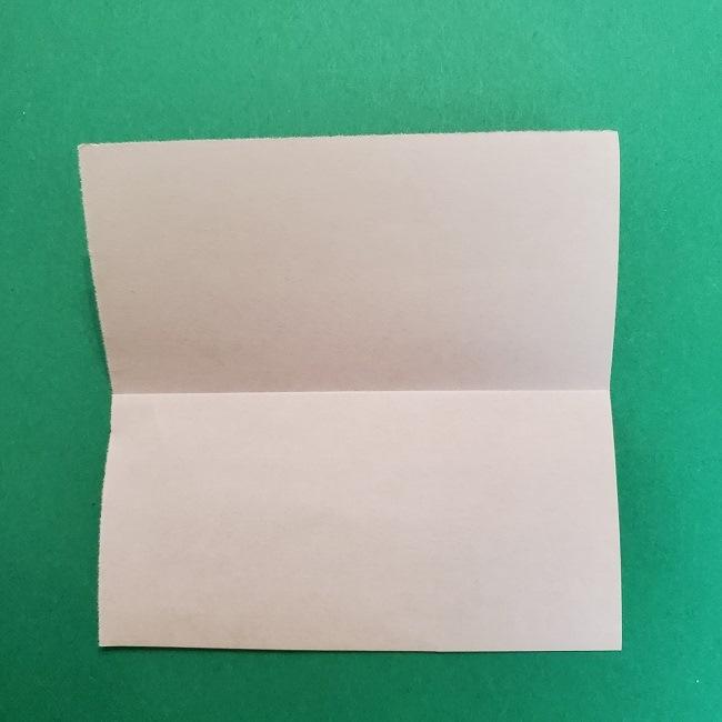 きめつのやいばの折り紙 うろこだき(鱗滝左近次)の折り方作り方①顔 (3)