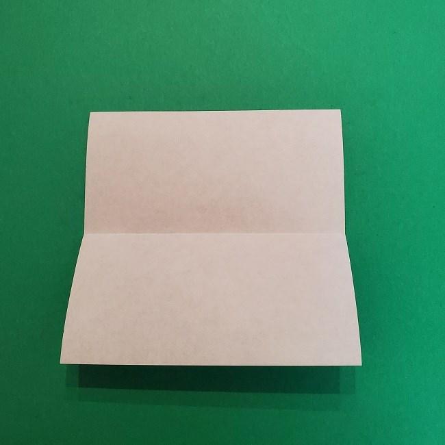 きめつのやいばの折り紙 うろこだき(鱗滝左近次)の折り方作り方②着物 (3)