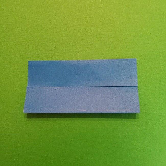 きめつのやいばの折り紙 うろこだき(鱗滝左近次)の折り方作り方②着物 (4)