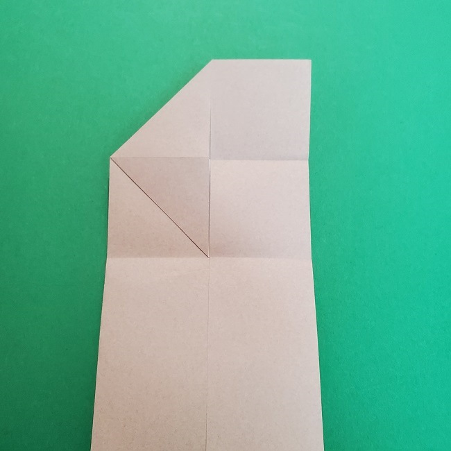 きめつのやいばの折り紙 うろこだき(鱗滝左近次)の折り方作り方③髪 (11)