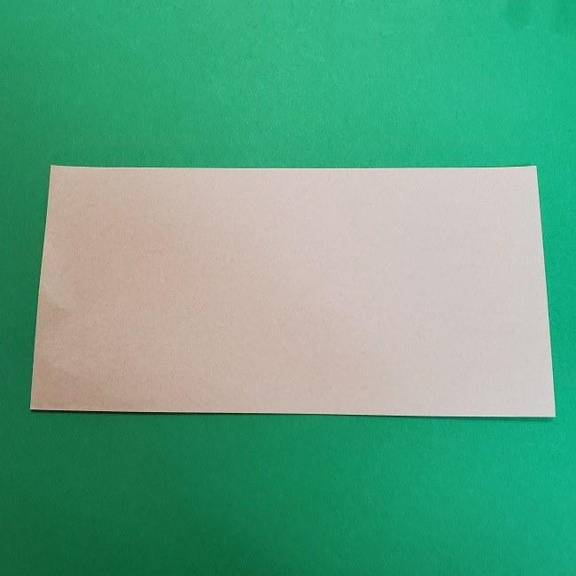 きめつのやいばの折り紙 うろこだき(鱗滝左近次)の折り方作り方③髪 (2)