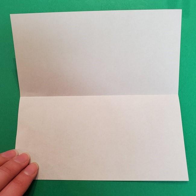 きめつのやいばの折り紙 うろこだき(鱗滝左近次)の折り方作り方③髪 (3)