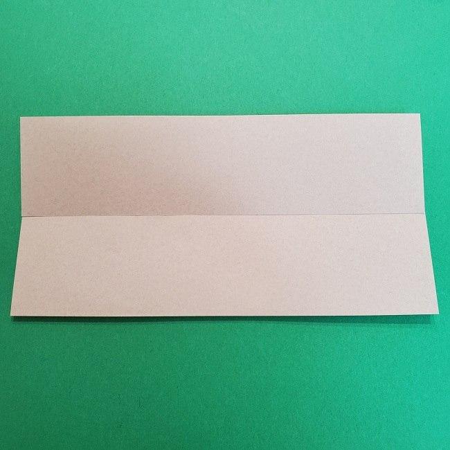 きめつのやいばの折り紙 うろこだき(鱗滝左近次)の折り方作り方③髪 (4)