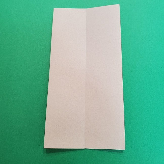 きめつのやいばの折り紙 うろこだき(鱗滝左近次)の折り方作り方③髪 (5)
