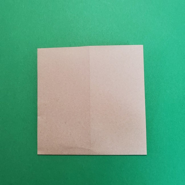 きめつのやいばの折り紙 うろこだき(鱗滝左近次)の折り方作り方③髪 (6)