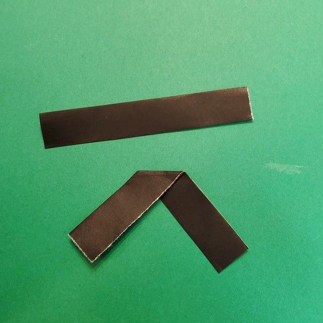 きめつのやいばの折り紙 うろこだき(鱗滝左近次)の折り方作り方④お面 (10)