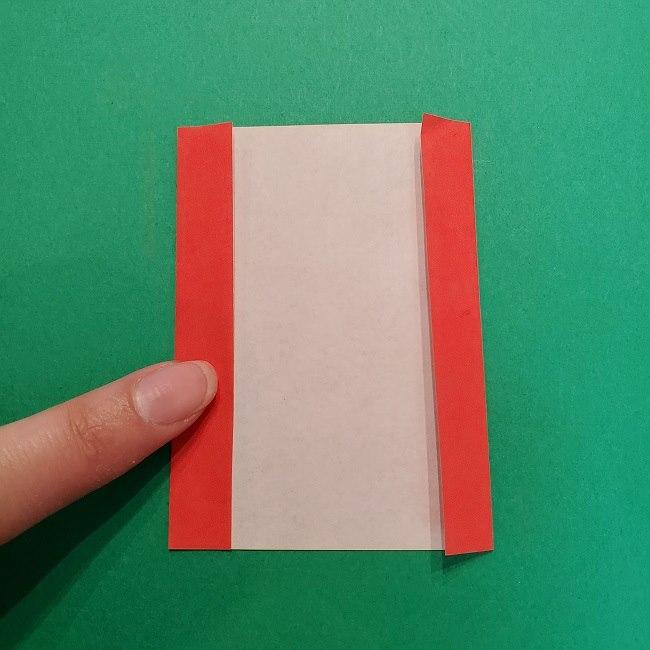 きめつのやいばの折り紙 うろこだき(鱗滝左近次)の折り方作り方④お面 (2)