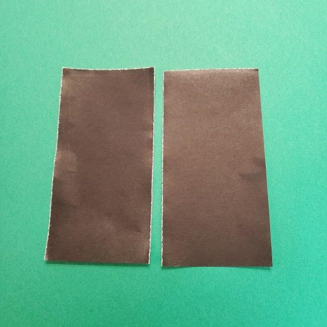 きめつのやいばの折り紙 うろこだき(鱗滝左近次)の折り方作り方④お面 (7)