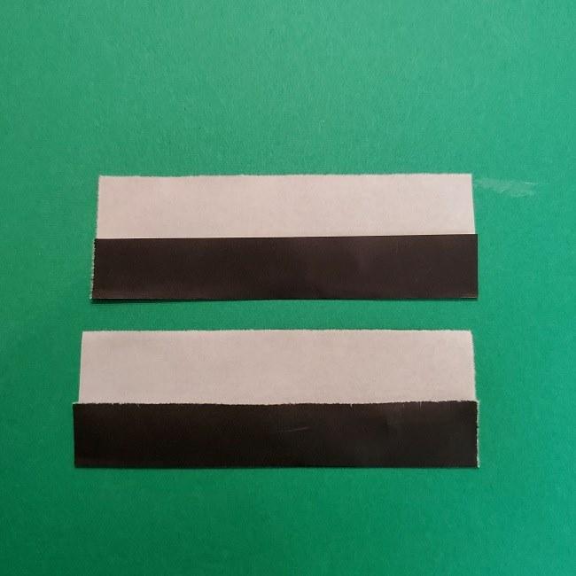 きめつのやいばの折り紙 うろこだき(鱗滝左近次)の折り方作り方④お面 (8)