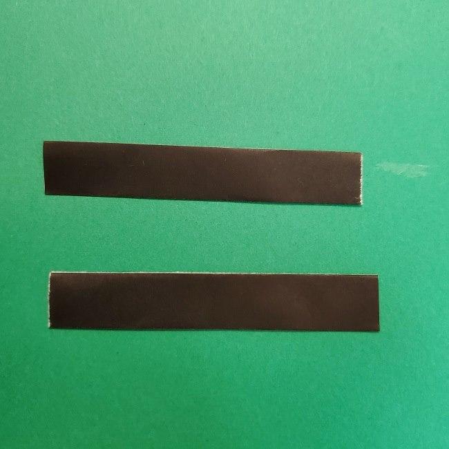 きめつのやいばの折り紙 うろこだき(鱗滝左近次)の折り方作り方④お面 (9)