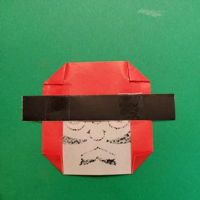 きめつのやいばの折り紙 うろこだき(鱗滝左近次)の折り方作り方⑤完成 (8)