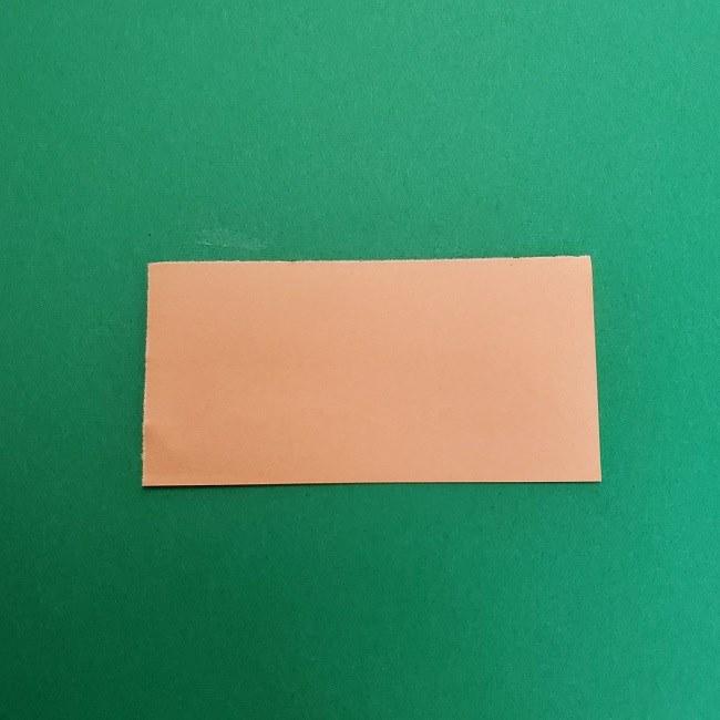 きめつのやいばの折り紙 さびと(錆兎)*折り方作り方①顔 (2)