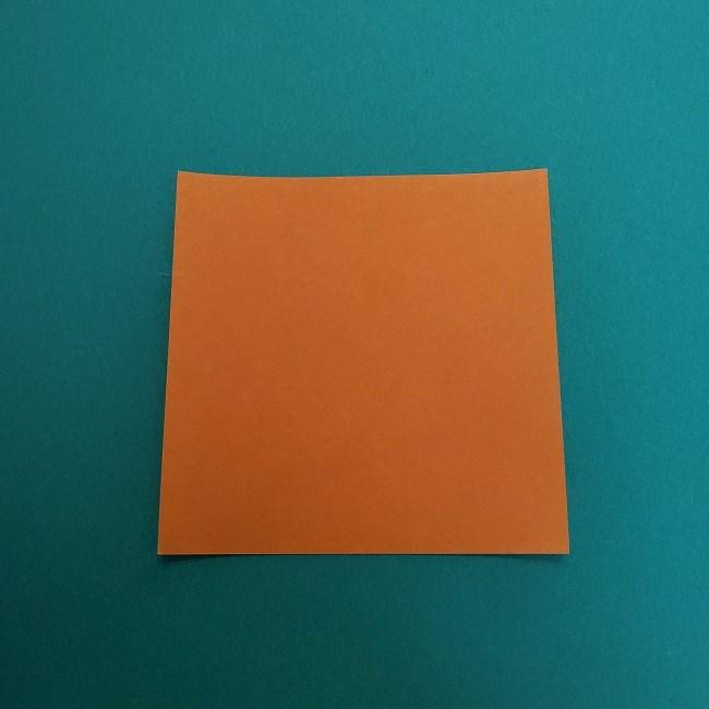 きめつのやいばの折り紙 さびと(錆兎)*折り方作り方②髪 (1)