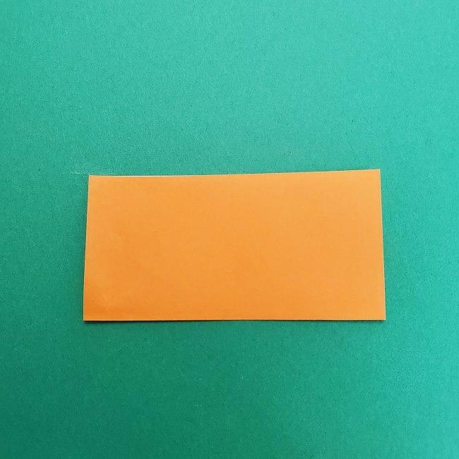 きめつのやいばの折り紙 さびと(錆兎)*折り方作り方②髪 (2)