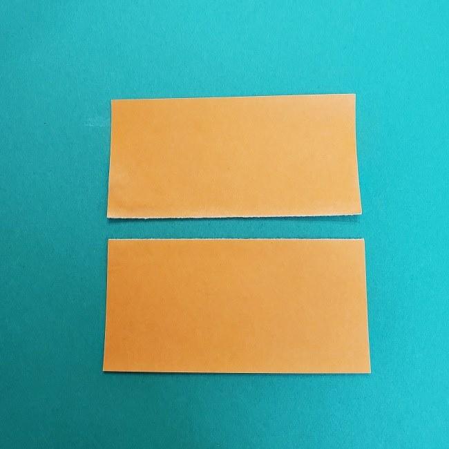 きめつのやいばの折り紙 さびと(錆兎)*折り方作り方②髪 (25)