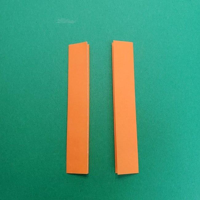 きめつのやいばの折り紙 さびと(錆兎)*折り方作り方②髪 (28)