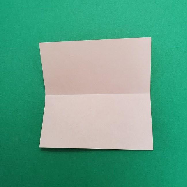 きめつのやいばの折り紙 さびと(錆兎)*折り方作り方②髪 (3)
