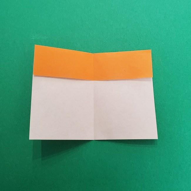 きめつのやいばの折り紙 さびと(錆兎)*折り方作り方②髪 (6)