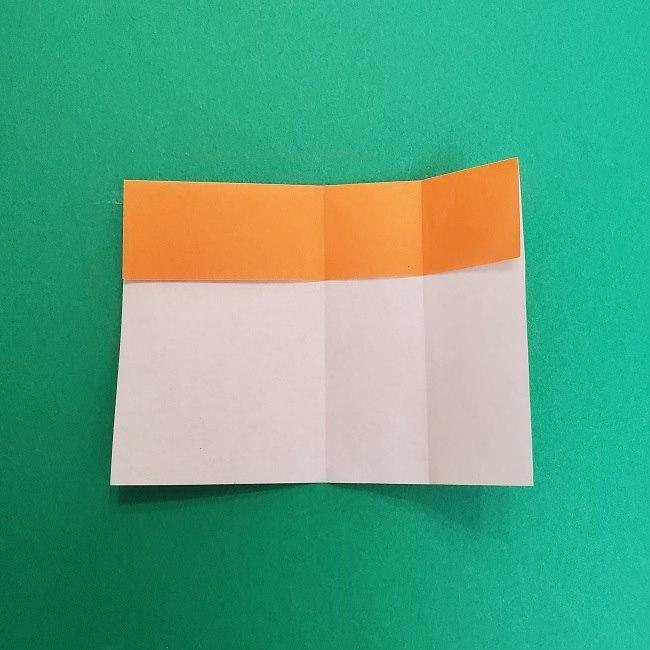 きめつのやいばの折り紙 さびと(錆兎)*折り方作り方②髪 (7)