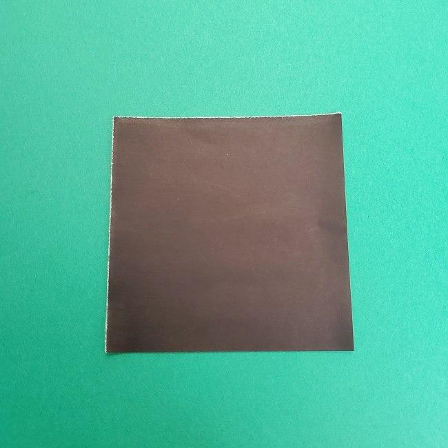 きめつのやいばの折り紙 さびと(錆兎)*折り方作り方③着物 (1)