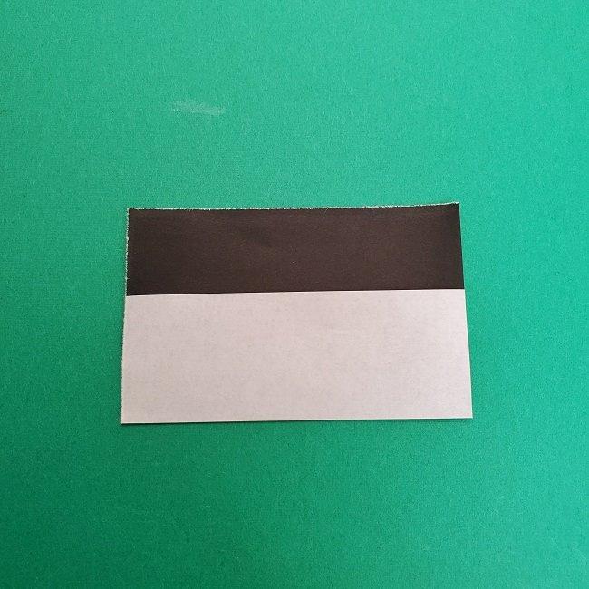 きめつのやいばの折り紙 さびと(錆兎)*折り方作り方③着物 (2)