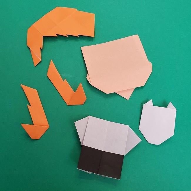 きめつのやいばの折り紙 さびと(錆兎)*折り方