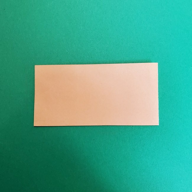 きめつのやいばの折り紙 真菰の折り方作り方①顔 (2)