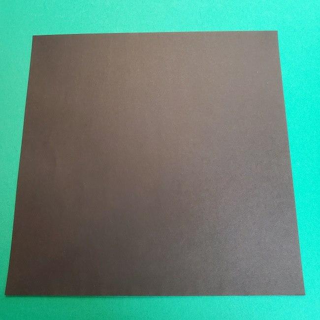 きめつのやいばの折り紙 真菰の折り方作り方②髪 (1)