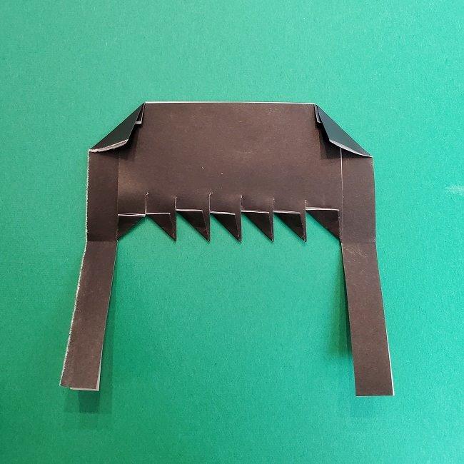 きめつのやいばの折り紙 真菰の折り方作り方②髪 (12)