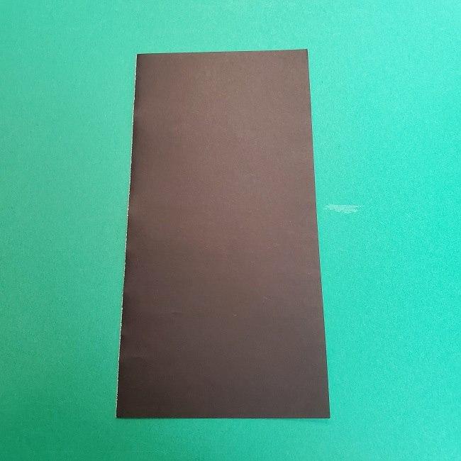 きめつのやいばの折り紙 真菰の折り方作り方②髪 (16)