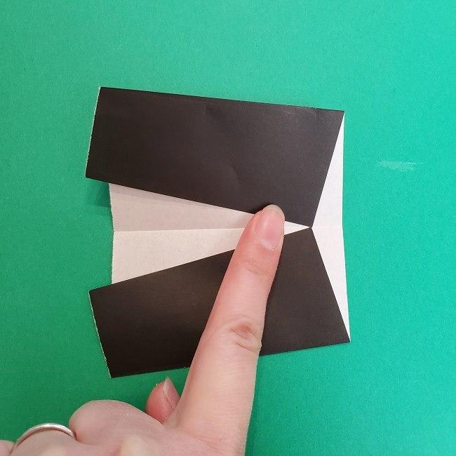 きめつのやいばの折り紙 真菰の折り方作り方②髪 (19)