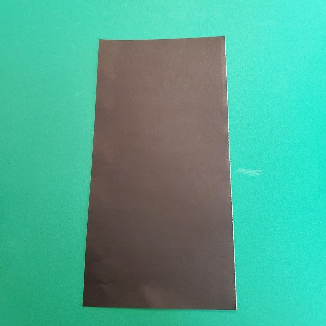 きめつのやいばの折り紙 真菰の折り方作り方②髪 (4)