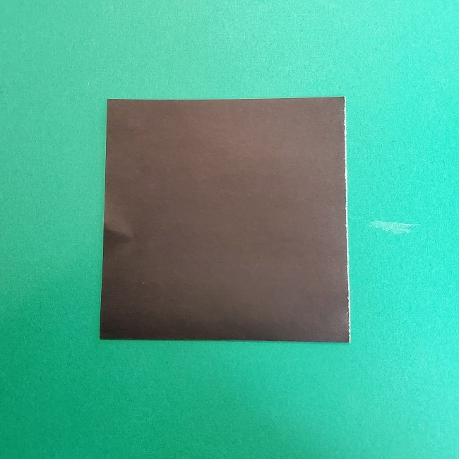 きめつのやいばの折り紙 真菰の折り方作り方②髪 (5)